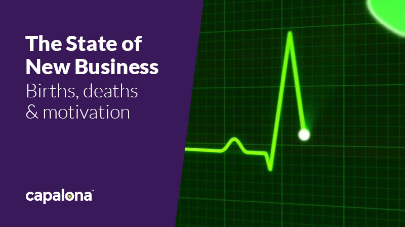 The state of new business: births, deaths & motivation